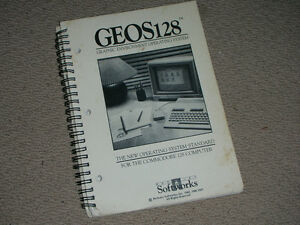 Commodore GEOS 128 Manual $10