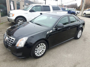 2012 CADILLAC CTS PREMIUM  PANO ROOF  LEATHER   ONLY 91,000 KMS