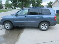 2002 Toyota Highlander Base SUV, Crossover