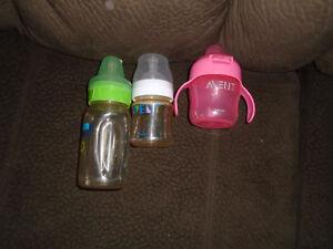 Baby bottles   All $5 ***