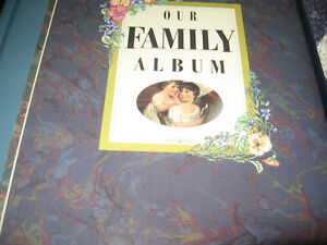 HARDCOVER FAMILY ALBUM BOOK NEW AND BOXED