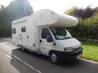 Sea CPT 2006 4 Berth Rear Fixed Bed Disabled Adapted Motorhome For Sale
