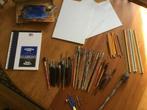 Professional Artist supplies,