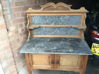 Wash stand and sideboard