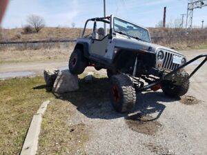 2000 JEEP TJ WRANGLER (RUBICON) UPGRADED! MUST BE SEEN