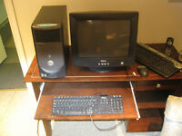 Desktop computer system all by DELL