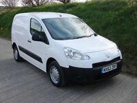 2012 62 Peugeot Partner 1.6HDi (92) 850 S L1 Van 1 Owner