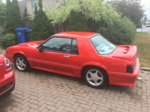 Ford Mustang 1988 5.0L Manuelle
