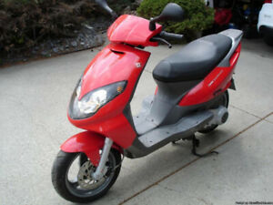 Like New - 150 cc Derbi Boulevard ScooterOffer over $1,200