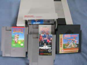 NES Sports package...Mike Tyson's Punch Out included.