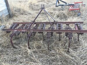 7 Foot 1950's 3 Point Hitch Cultivator
