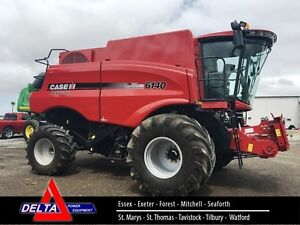 2015 Case IH 6140 Axial Flow Combine London Ontario image 1