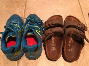 Boys New Balance Running Shoes and Kids Birkenstocks Peterborough Peterborough Area image 1