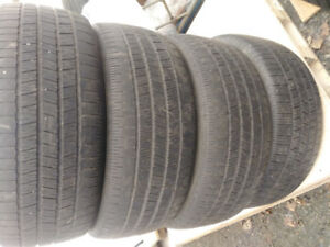 Four All season 17 inch tires P225/50R17.