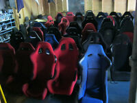 many kind of racing seats