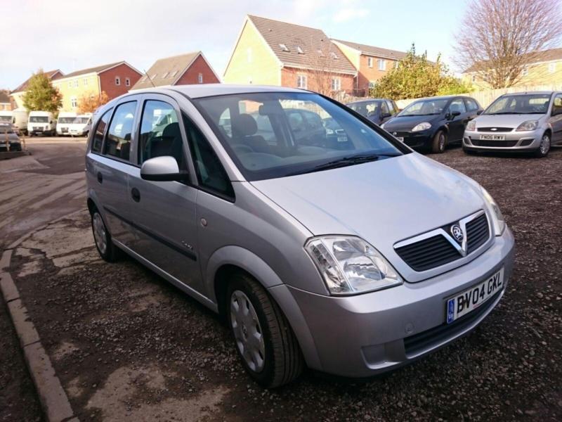 Vauxhall Meriva 1.8i 16v ( a/c ) Enjoy 5 DOOR - 2004 04-REG - 6 MONTHS MOT