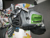 Dunlop SDR right hand golf clubs and bag REDUCED