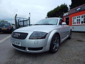 2002 Audi TT 1.8 T Quattro 2dr [225] Full service history,2 keys,12 months mo...