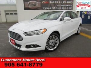 2016 Ford Fusion SE  AWD, LEATHER, NAV, ROOF, BLUETOOTH