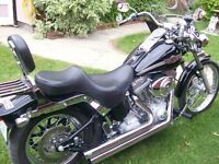wanted stock exhaust for twin cam softail. Will trade Vance&Hine