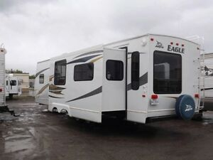 Beautiful 2008 Jayco Eagle RLS travel trailer 34 footer Deluxe