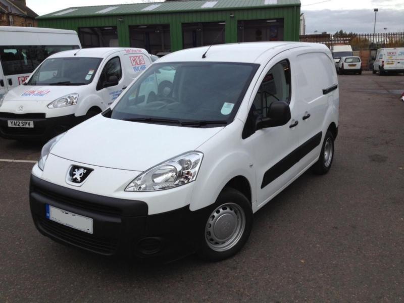 8f71ac8eac 2012 12 Peugeot Partner 1.6HDi 850 S L1 - Diesel Van