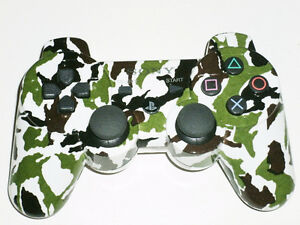 FOR SALE: BRAND NEW SONY PS3 BLUETOOTH WIRELESS CAMOUFLAGE!!!!!