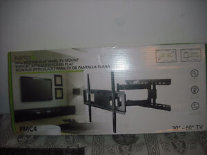 new in box kanto 30-60 full motion tv wall mount