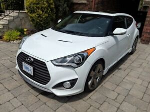 2015 Hyundai Veloster Turbo 6-Spd Manual, Low KM, Loaded