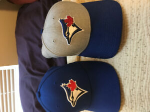 2 Blue Jays hats! worn once