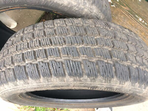 2 used winter tires