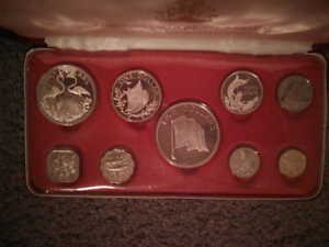 COINS, COMMONWEALTH OF THE BAHAMAS 1975