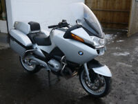 BMW R1200 RT EX POLICE MOTORCYCLE MOTORBIKE BIKE SPORTS TOURER HIGH SPEC