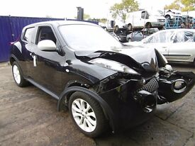 2012 Nissan Juke Ministry of Sound , 1.6 automatic breaking for spares