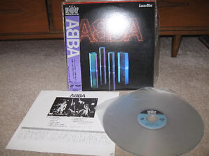 Abba-Japanese Laser Disc + Abba Gold cd