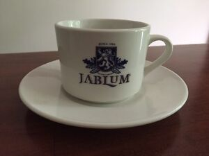 Jablum Jamaican coffee cup and saucer West Island Greater Montréal image 1