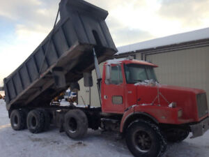 Volvo Dump truck SPIF axle cheap truck ready to go