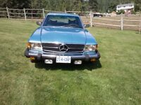 1976 Mercedes-Benz 450 SLC (collector status)