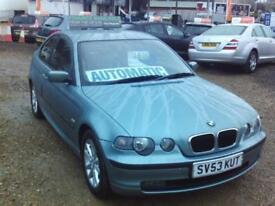 BMW 3 Series 1.8 316ti ES Compact Hatchback 3d 1796cc auto