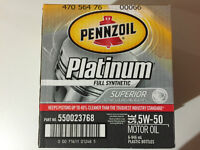 5W30 Pennzoil Platinum Synthetic Engine Oil