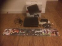 PS3, 120GB, console and game bundle.
