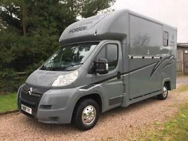 Citroen Relay Horsebox (120hp) LWB New John Oates Conversion 3.5T 3.5 Tonnes