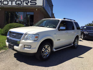 2007 FORD EXPLORER LIMITED (4x4, NAV, Leather Seats)