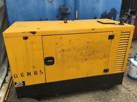 16 kva generator lister petter engine diesel fully working silenced