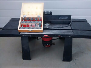 Craftsman Router with table and 10 tips