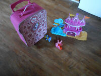 my little pony musical mermaid castle. my little pony suitcase