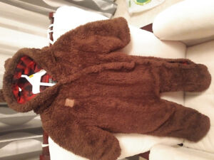 Baby costume bear  by roots