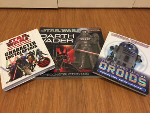3 Hardback Star Wars Character Books
