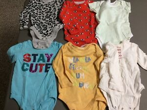 Girls size 6-9-12 clothes