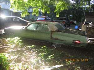 old car for sale or parts